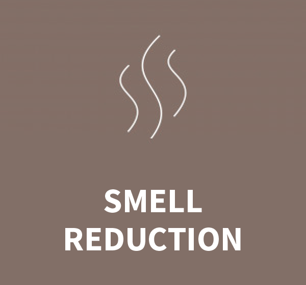 SMELL REDUCTION